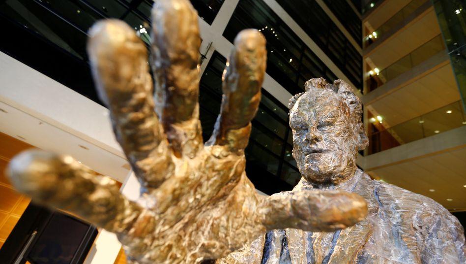 Die Willy-Brandt-Skulptur im Willy-Brandt-Haus