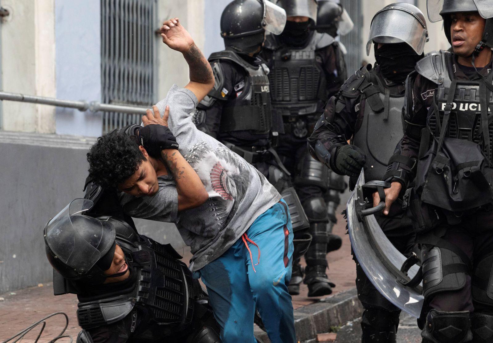 ECUADOR-PROTESTS/