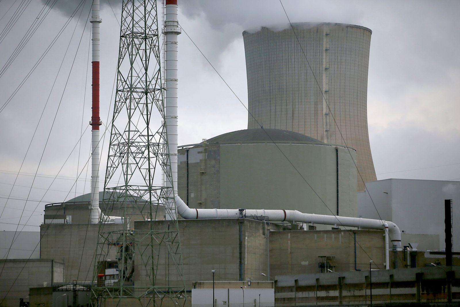 Atomkraftwerk Tihange Belgien