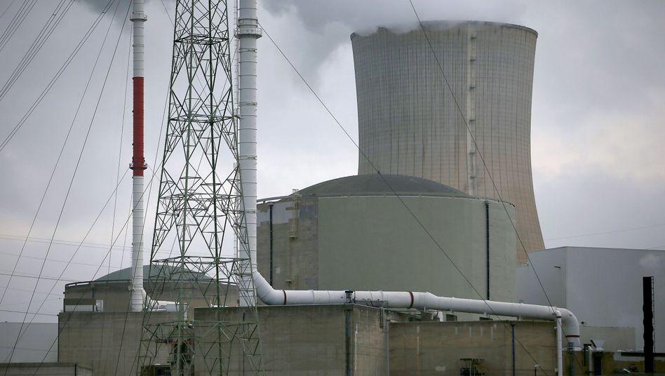 Das Atomkraftwerk Tihange: Nahe der deutschen Grenze