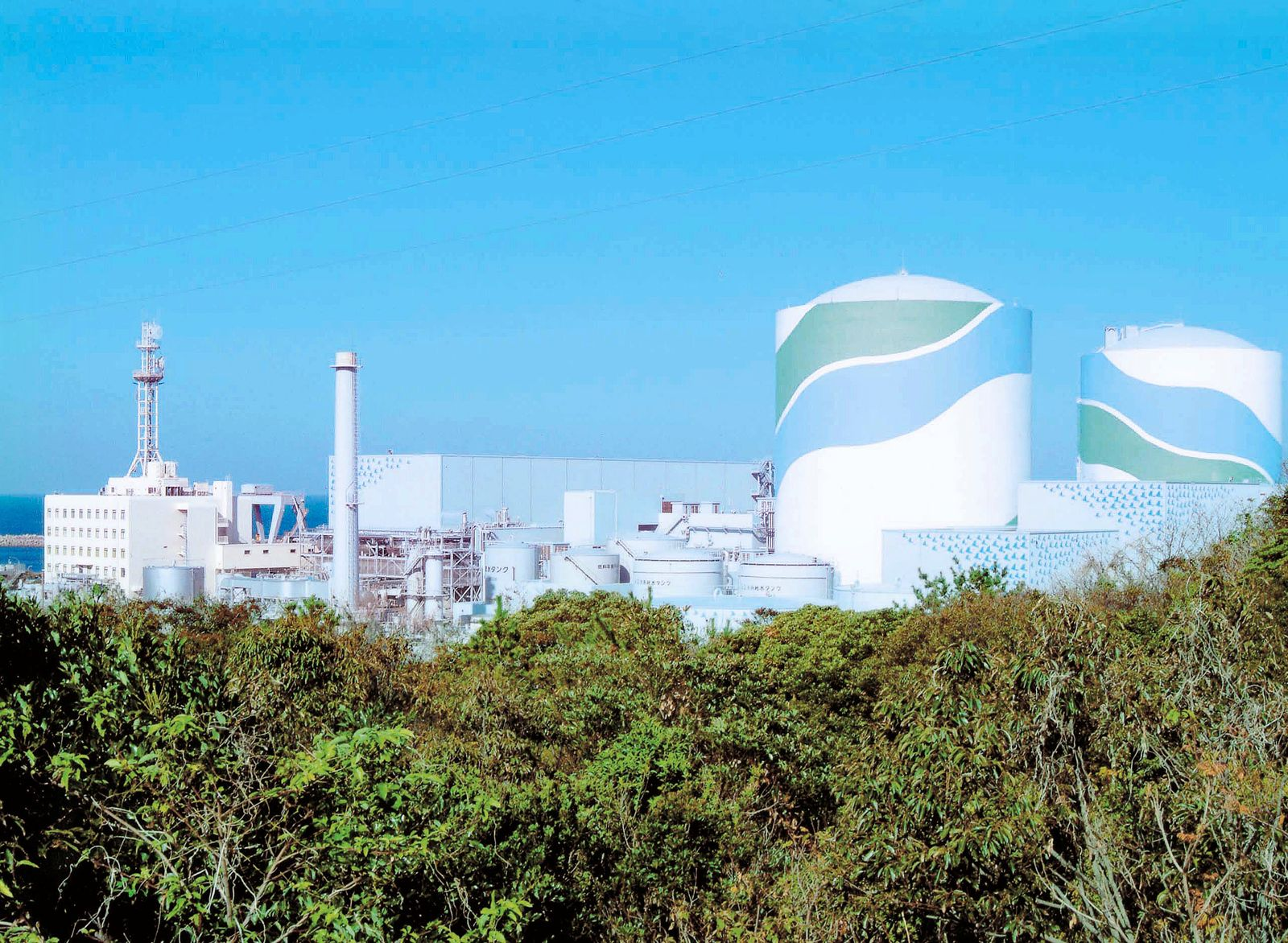 Atomkraftwerk Sendai / Japan