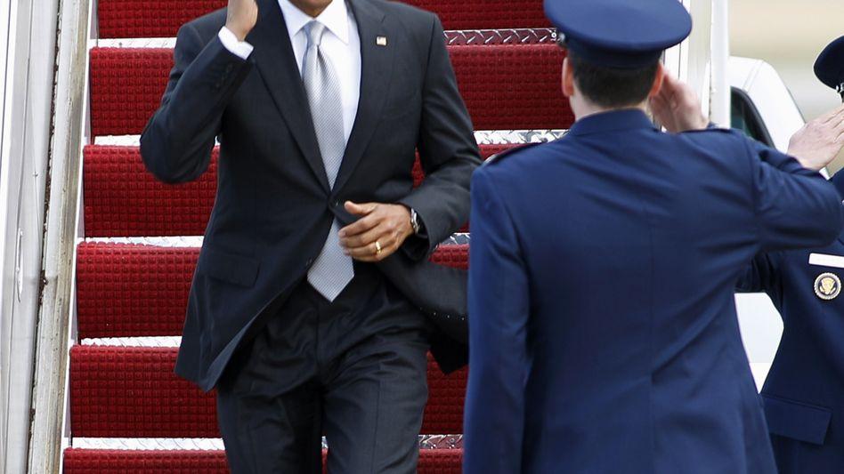 """Präsident Obama: """"Keine Option vom Tisch"""""""