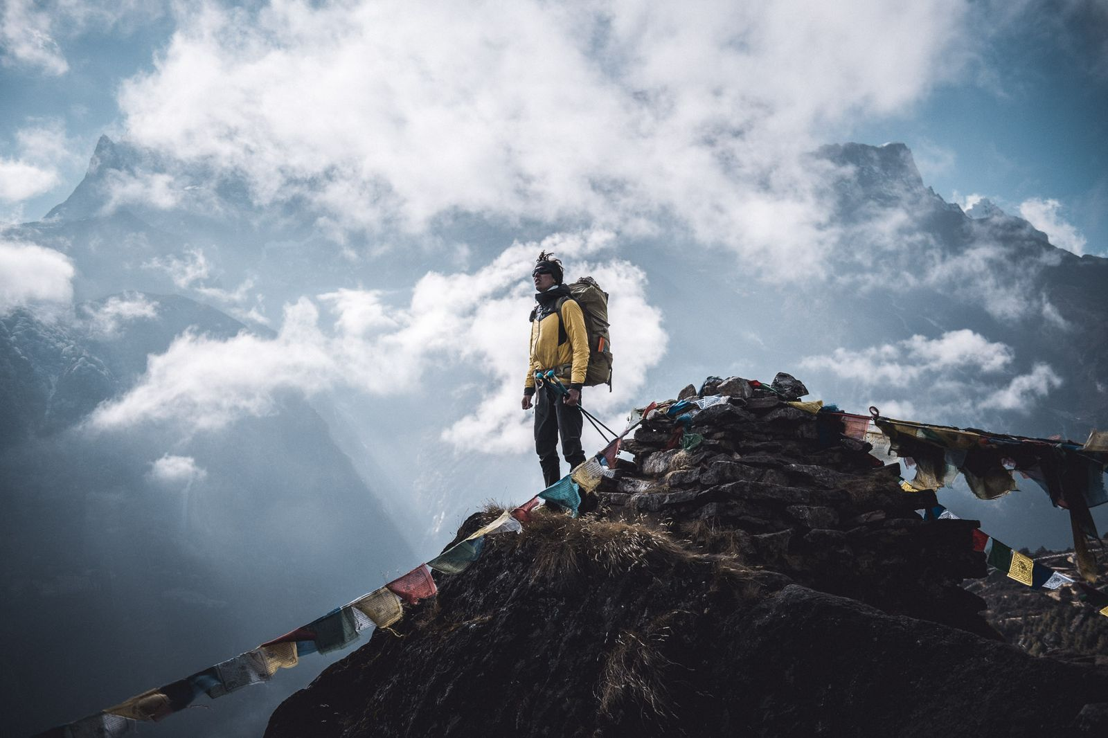 Deutscher Bergsteiger Jost Kobusch