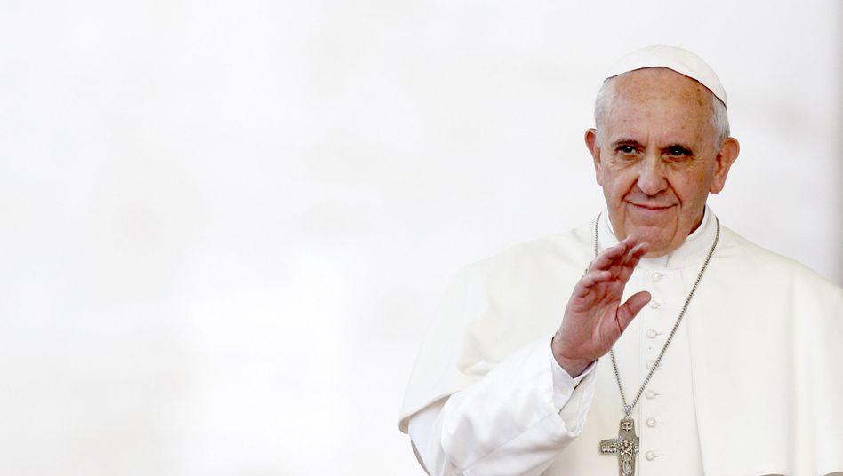"""Papst Franziskus: """"Gib Almosen, und das wird deine Heuchelei heilen."""""""