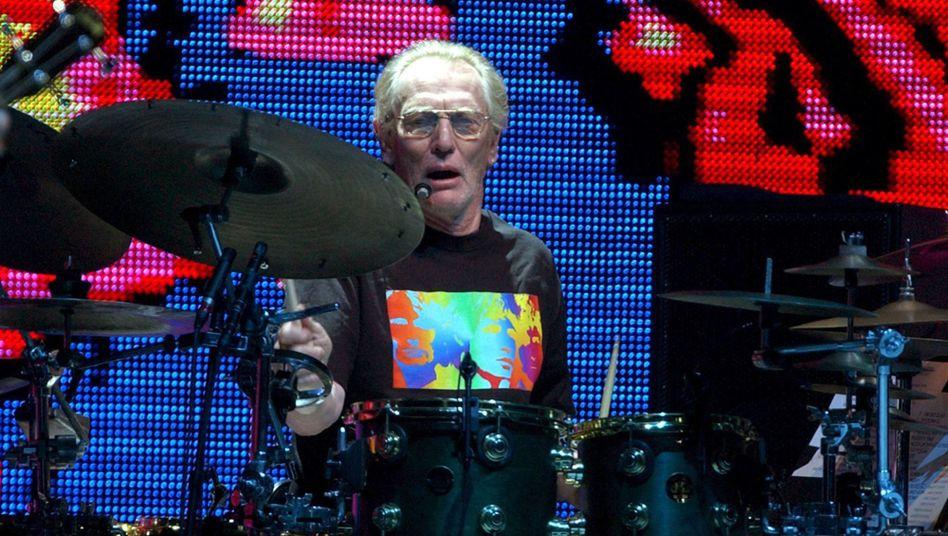 Ginger Baker (bei einem Cream-Konzert in New York 2005): Star-Drummer der Londoner Szene in den Sechzigern