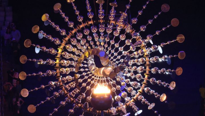 """Olympia-Abschlussfeier: """"Wir sehen uns in Rio"""""""