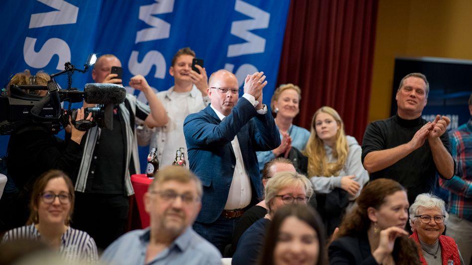 Stefan Seidler am Wahlabend: »Wir sind keine Spaßpartei«