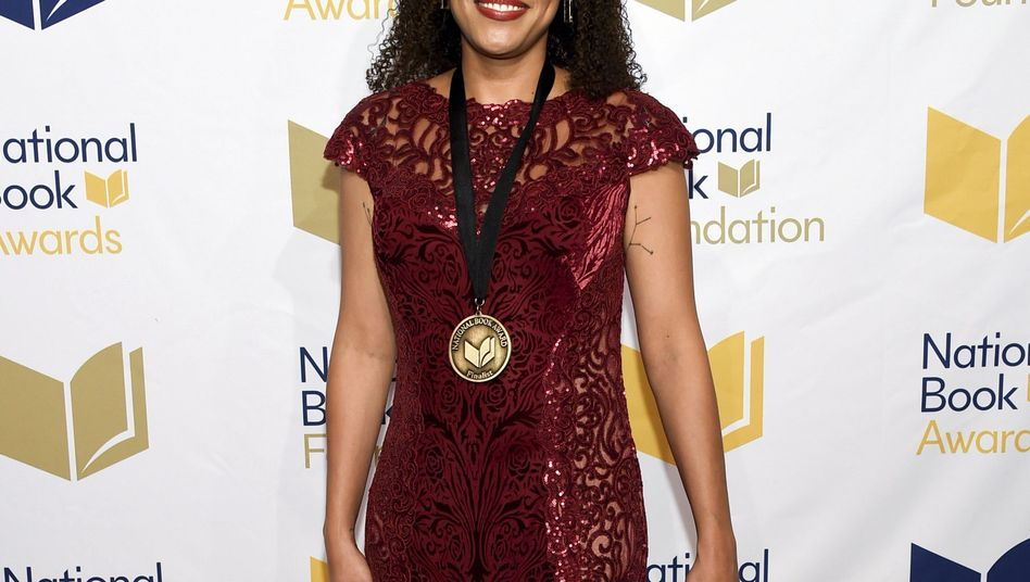 Jesmyn Ward bei der Preisgala der National Book Awards 2017