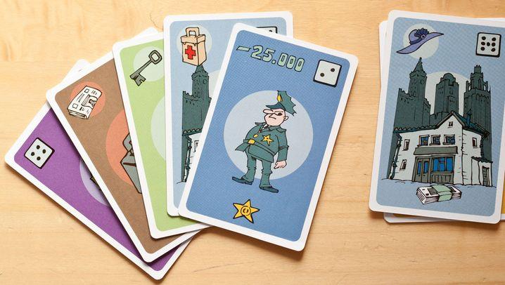 Neues von der Spielmesse: Mafia Dollar - Dreckiges Geld