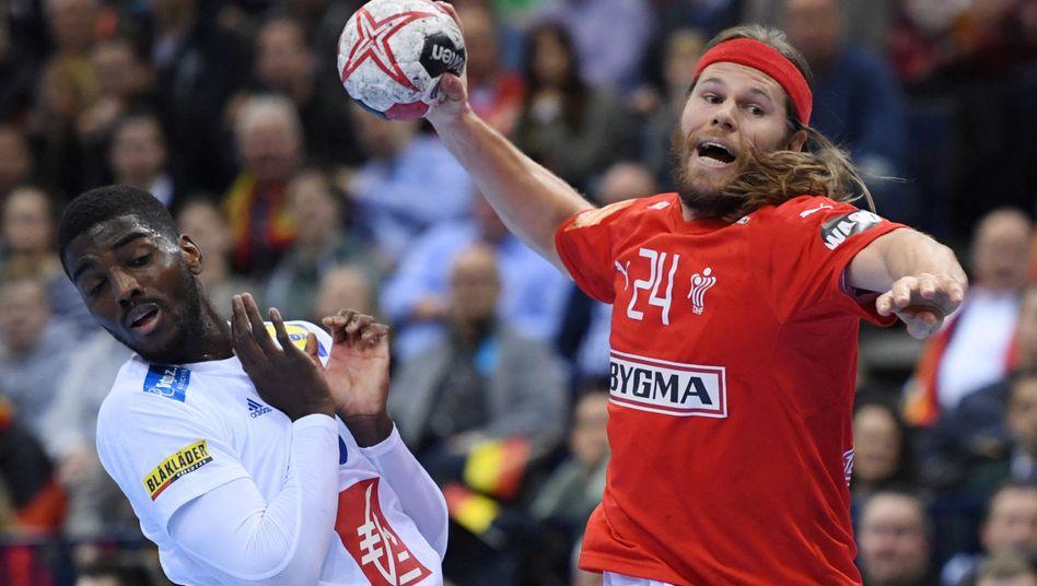 Mikkel Hansen (rechts) war der beste Torschütze bei der Handball-WM 2019