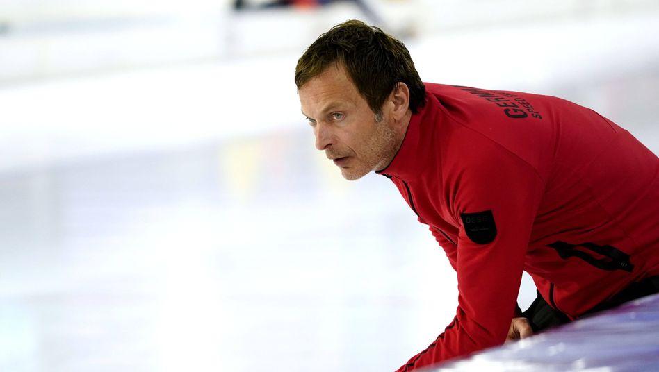 Erik Bouwman hat als Bundestrainer der deutschen Eisschnellläufer die Kündigung bekommen