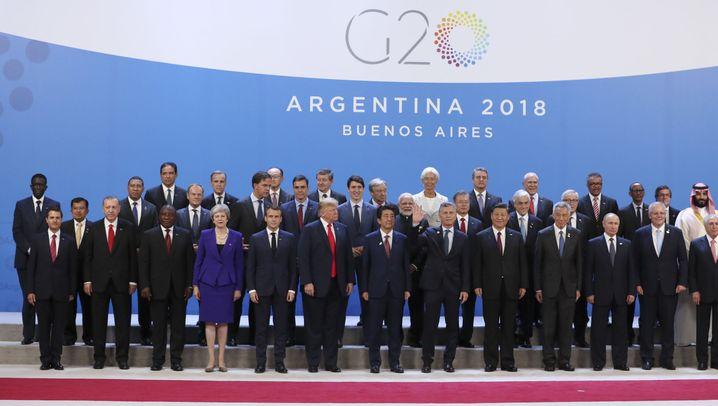 Gipfel in Buenos Aires: G20 endlich komplett