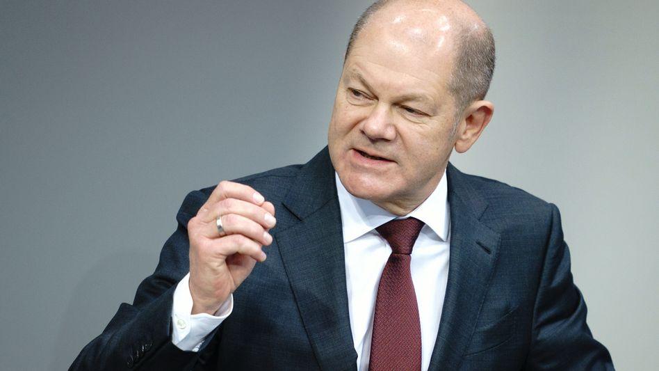 Bundesfinanzminister Olaf Scholz (SPD): »Die Aufsicht bekommt mehr Biss«