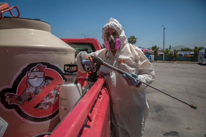 "Kampf gegen Corona in Mexiko: ein ""Covid Buster"" in Tijuana"