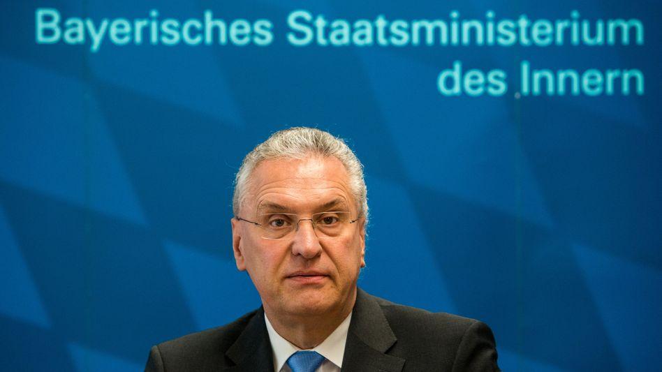 """Bayerns Innenminister Joachim Herrmann (Archiv): """"Völlig inakzeptabel"""""""