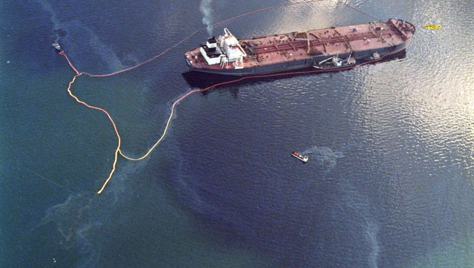 """Havarierte """"Exxon Valdez"""" (am 9. April 1989): Folgen noch heute nachweisbar"""