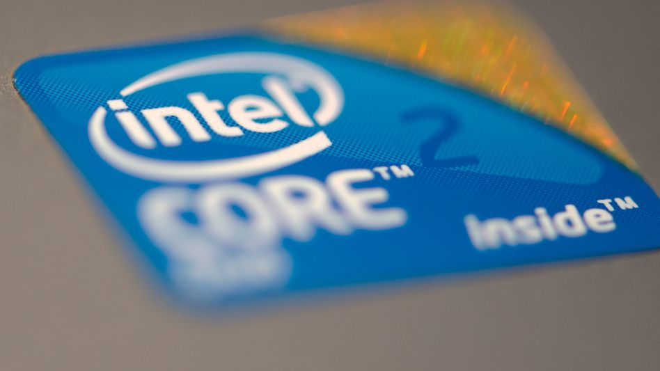 Intel-Aufkleber