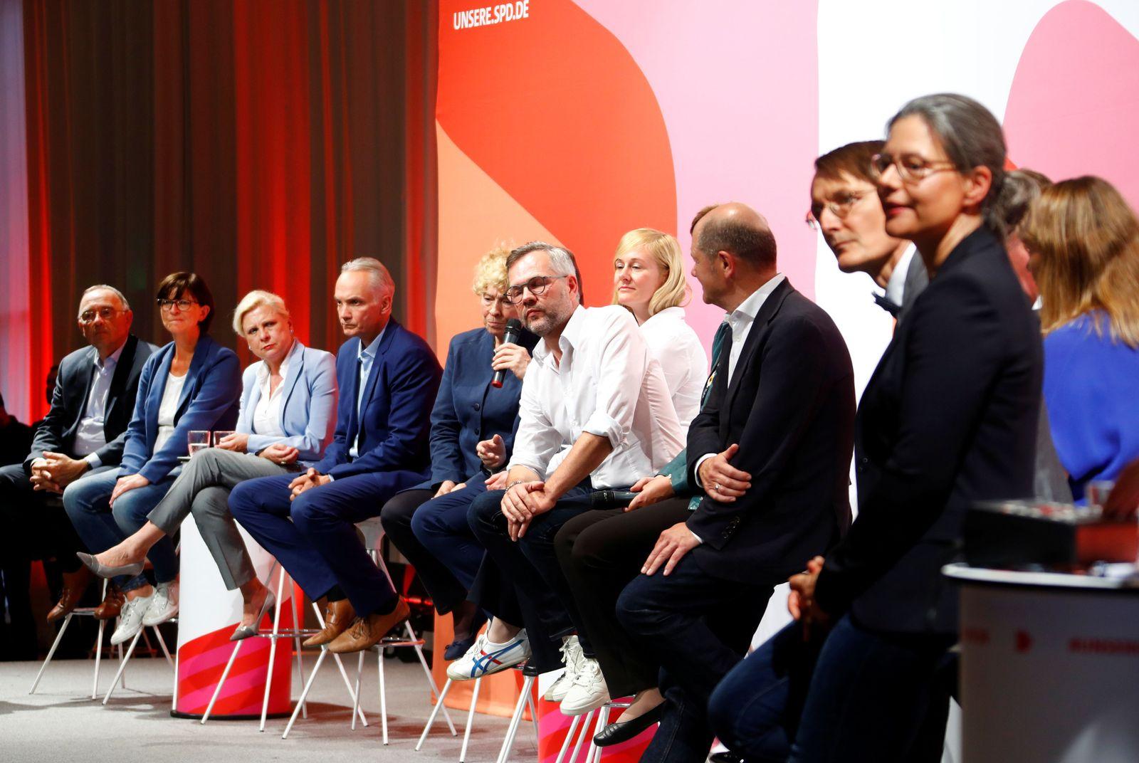 SPD Wimmelbild Regionalkonferenz