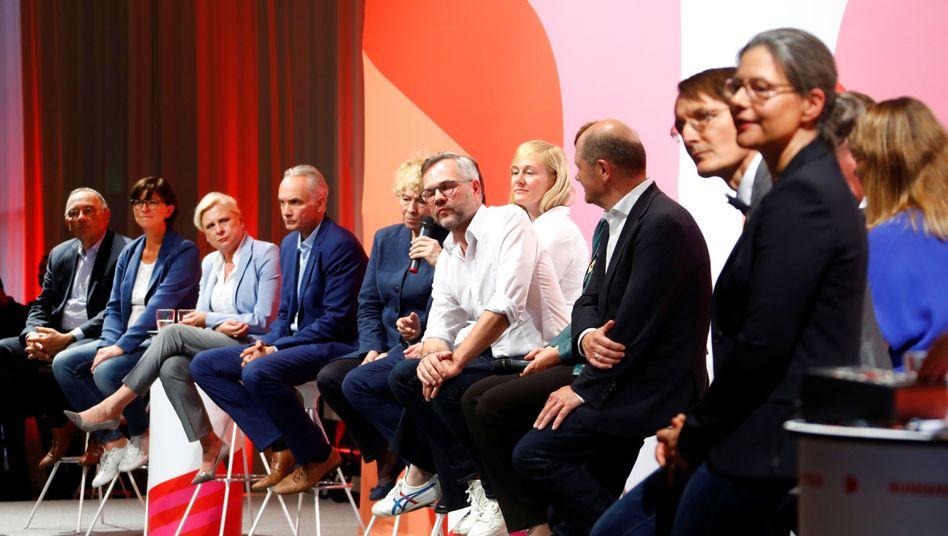 Die Kandidaten für den SPD-Parteivorsitz in Saarbrücken
