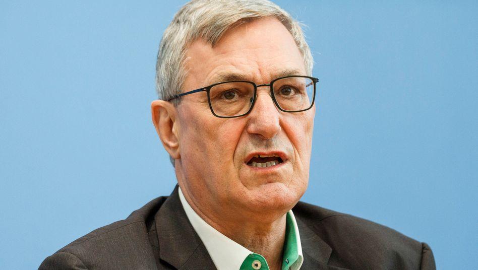 Linkenchef Bernd Riexinger: Er gehört zu den Unterzeichnern des offenen Briefs