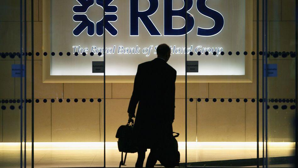 Londoner Hauptsitz der Royal Bank of Scotland: Geschäft erheblich zusammenstutzen