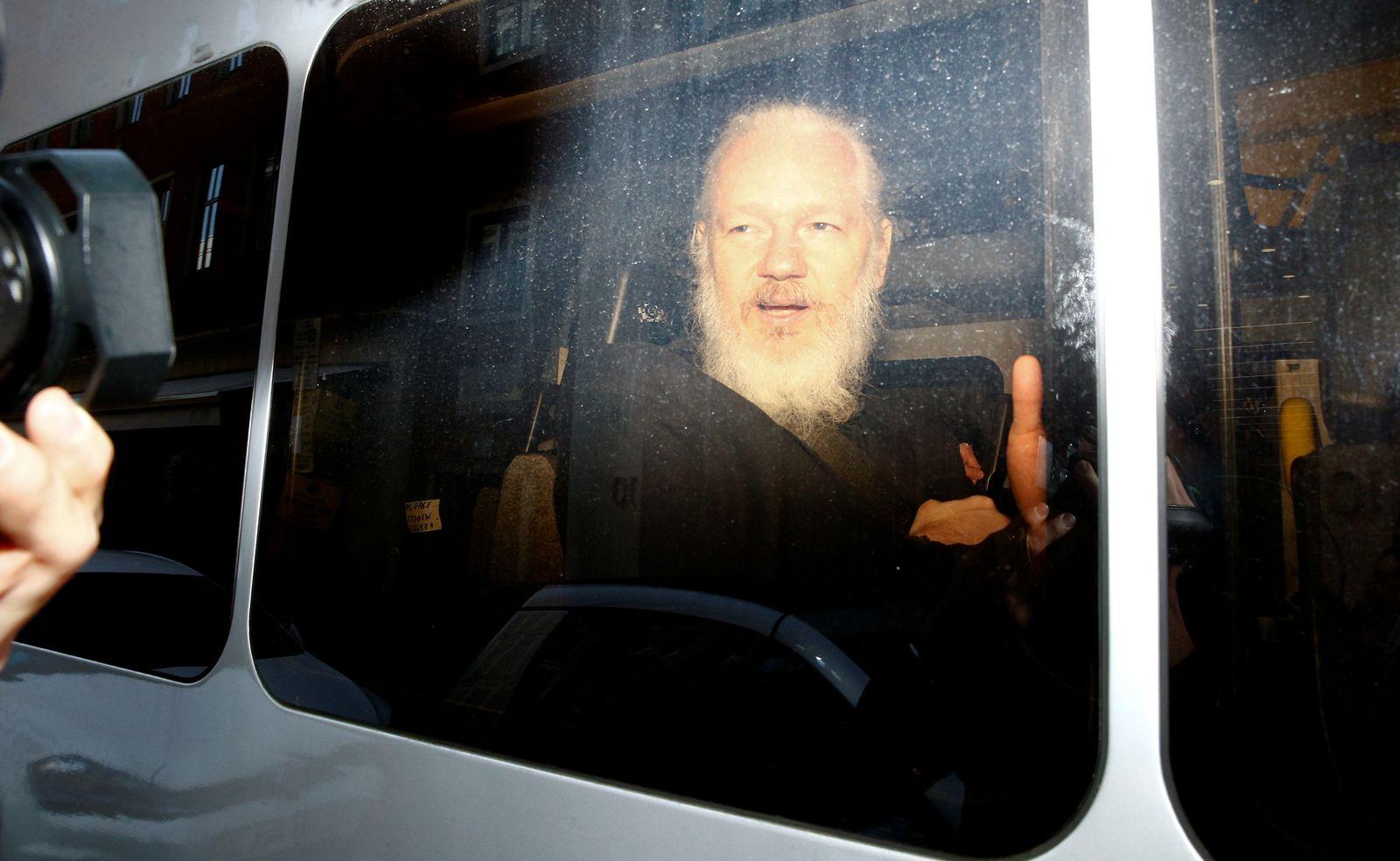 Assange / Festnahme
