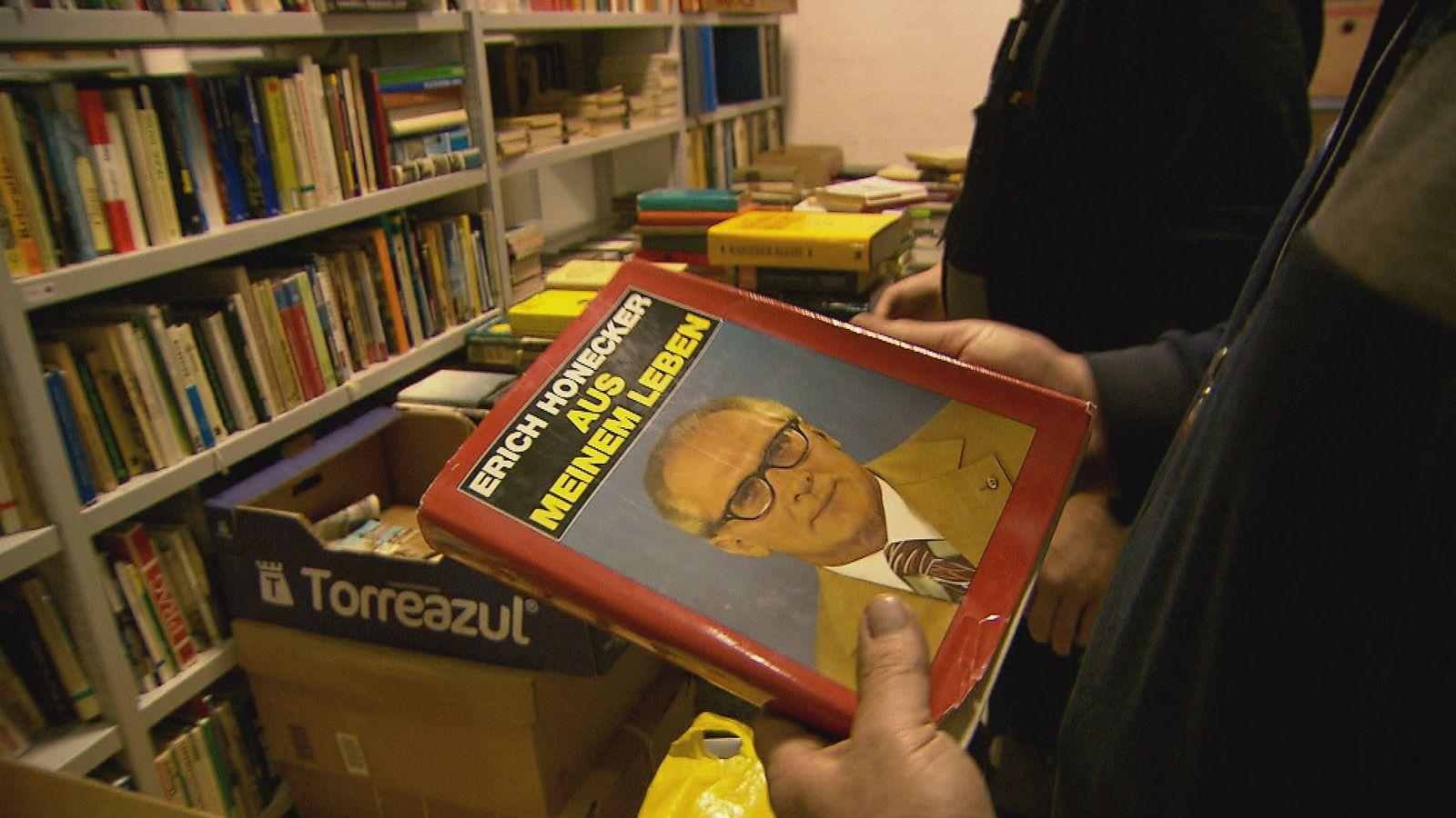 DDR-Bibliothek Peter Sodann