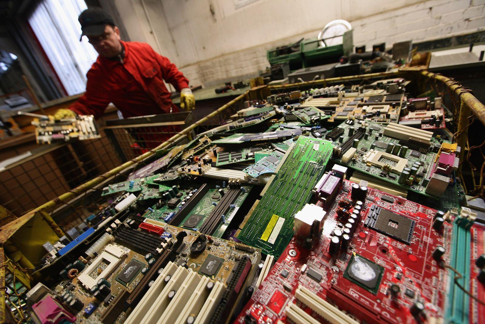 Elektroschrott / Recycling