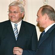 Steinmeier und Putin: Auf den deutschen Außenminister kann sich der Kreml-Chef verlassen