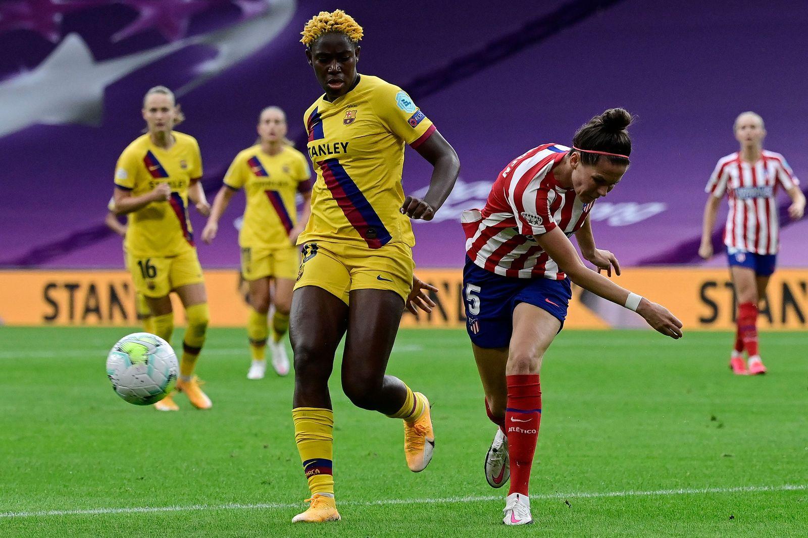 FBL-EUR-C1-WOMEN-ATLETICO MADRID-BARCELONA