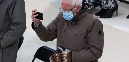 Bernie Sanders Handschuhe, Bidens Anzug und Harris' Mantel: Die Outfits der Inauguration