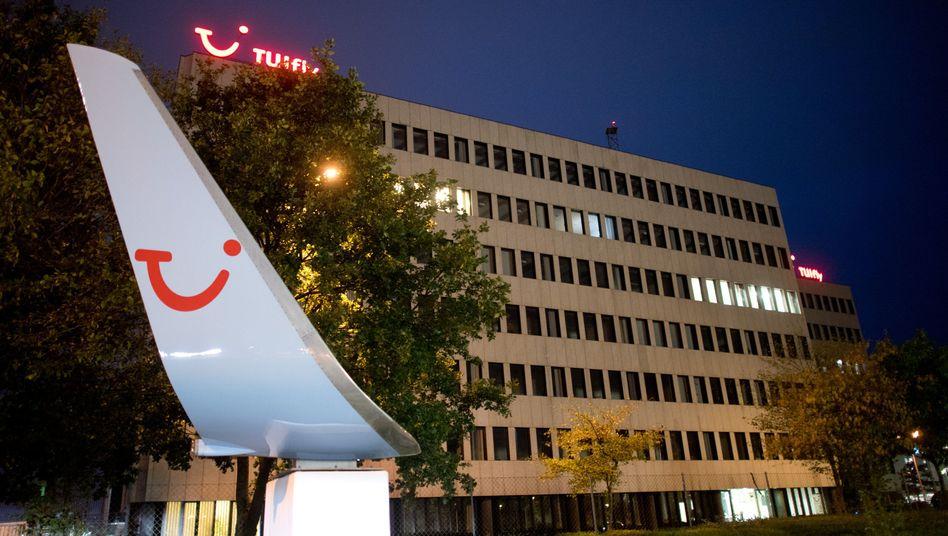 Zentrale von TUIfly am Flughafen Hannover
