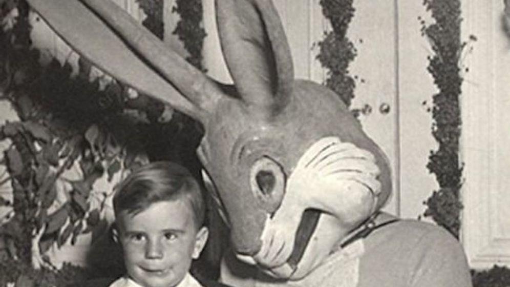 Historische Osterfotos: Wer hat Angst vorm Horrorhasen?