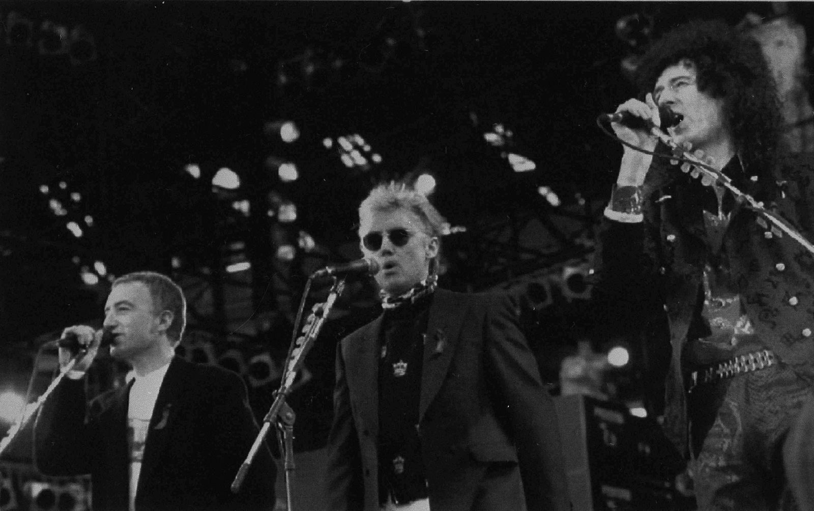John Deacon, Roger taylor, Brian May