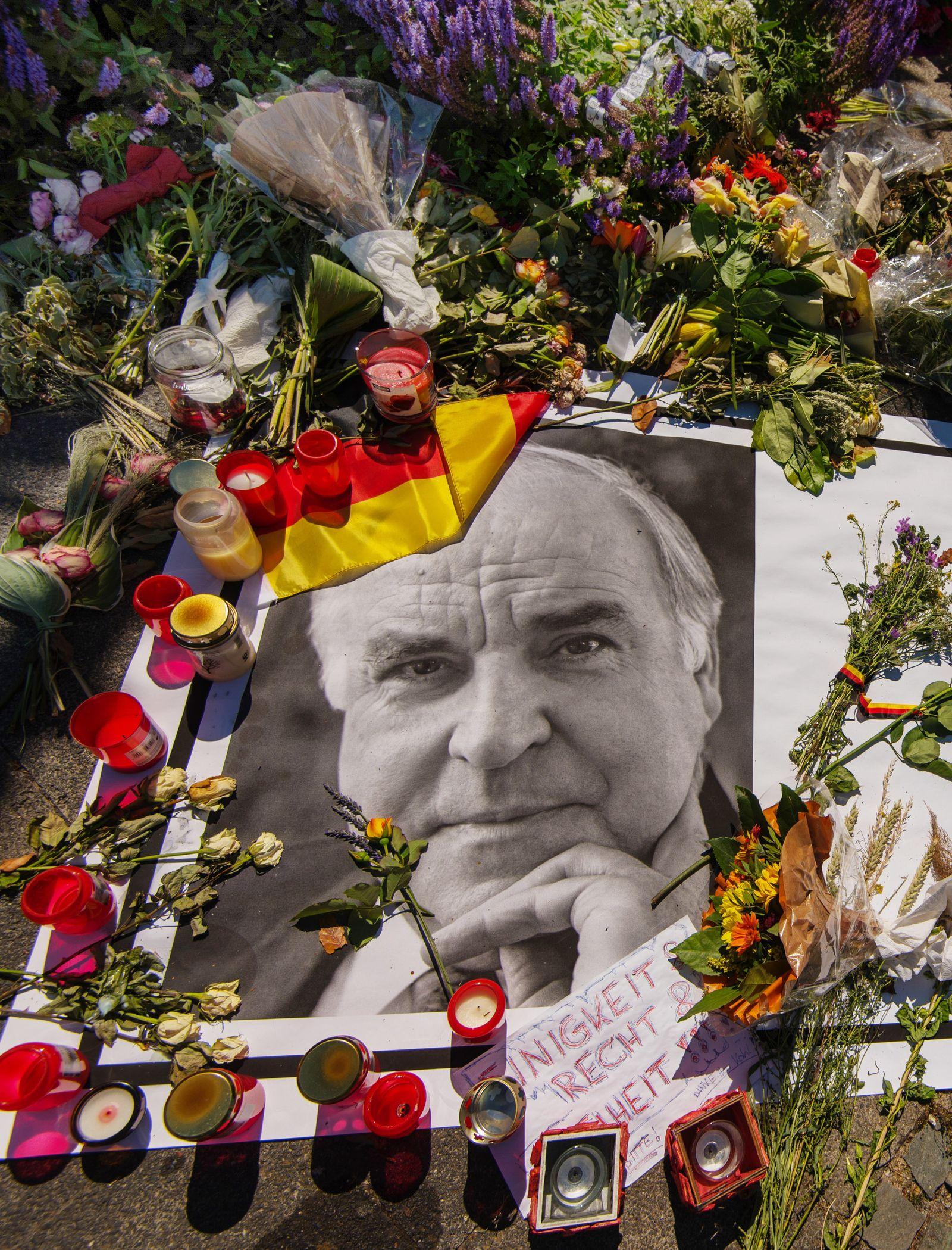 Helmut Kohl/ Trauer