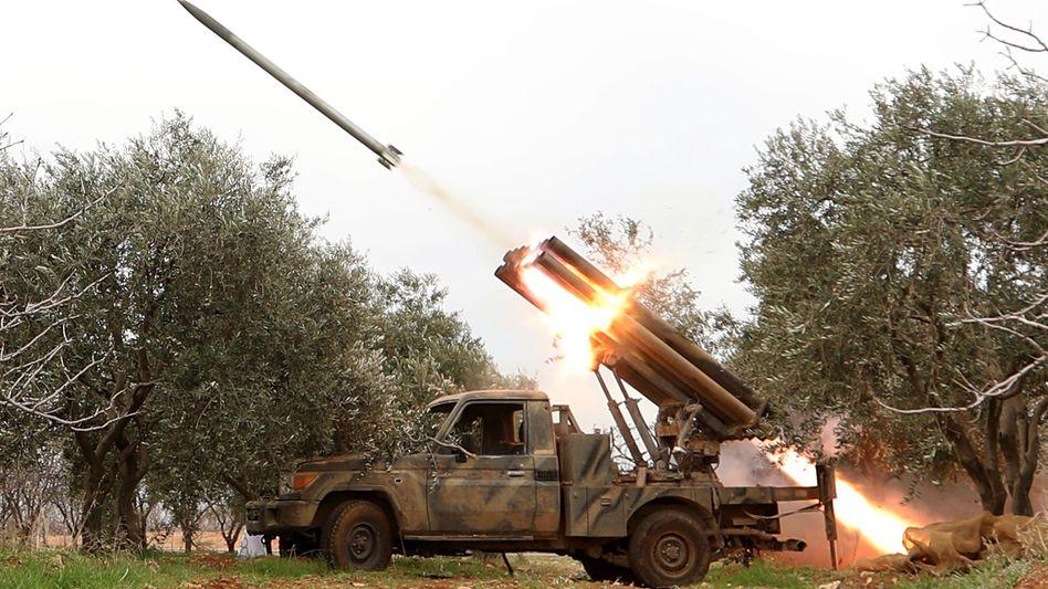 HTS-Miliz in Idlib