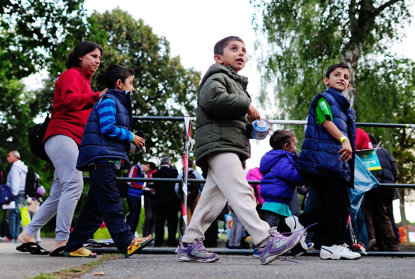 Flüchtlinge/ Kinder