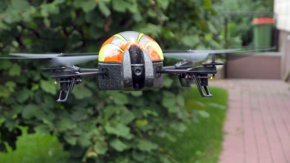 Drohne im Garten: Hör mal, was da fliegt