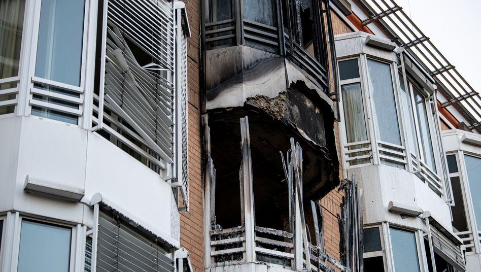 Krankenhaus in Berlin-Zehlendorf: Verrußte Fassade