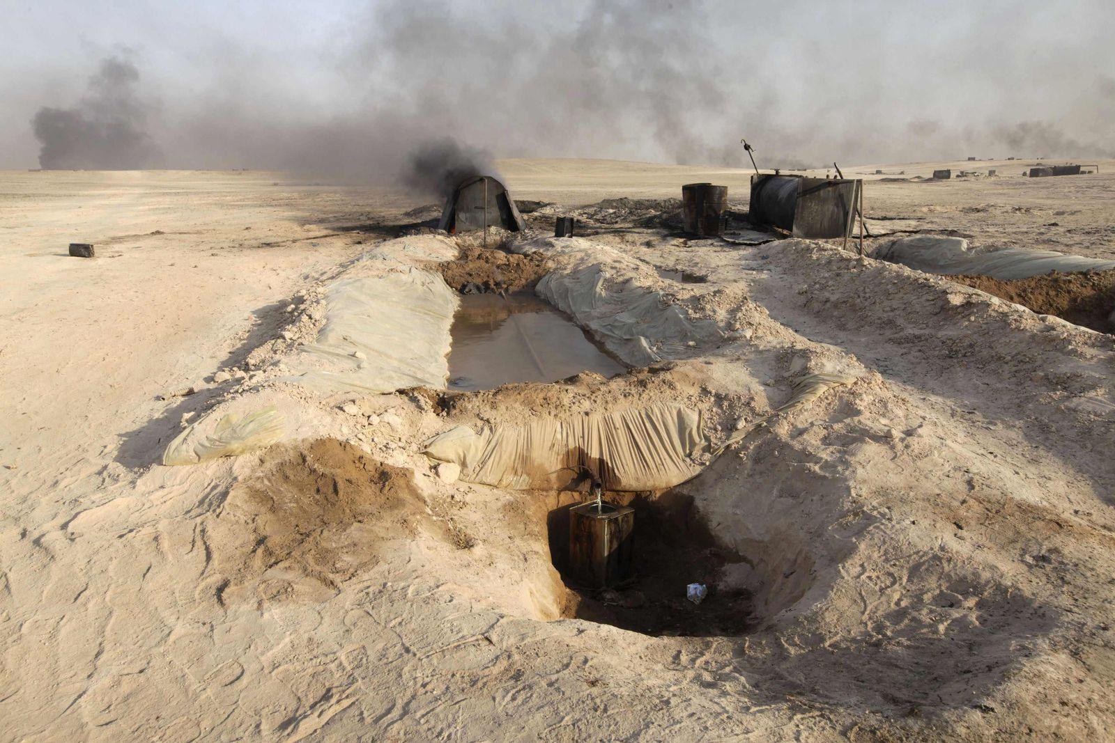 Syrien / Öl