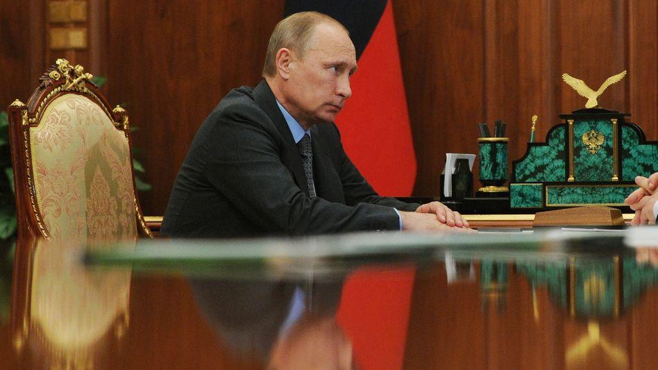 Russlands Staatschef Putin: EU will Druck erhöhen