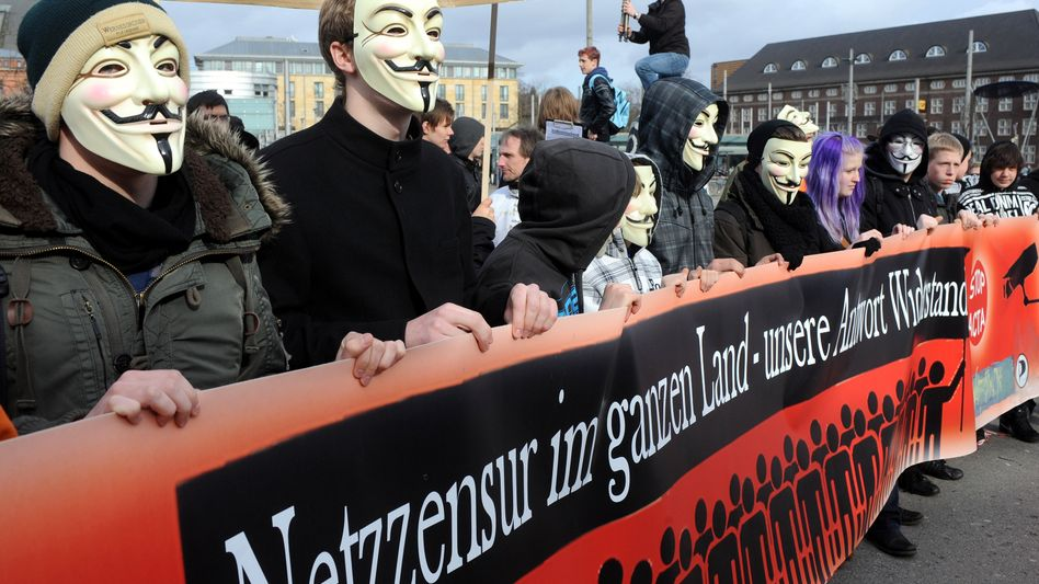 Bremer Anti-Acta-Demo (Februar 2012): Das Netz ist bereit für den nächsten Kampf