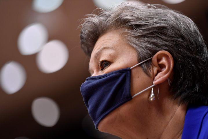 European Commissioner Ylva Johansson
