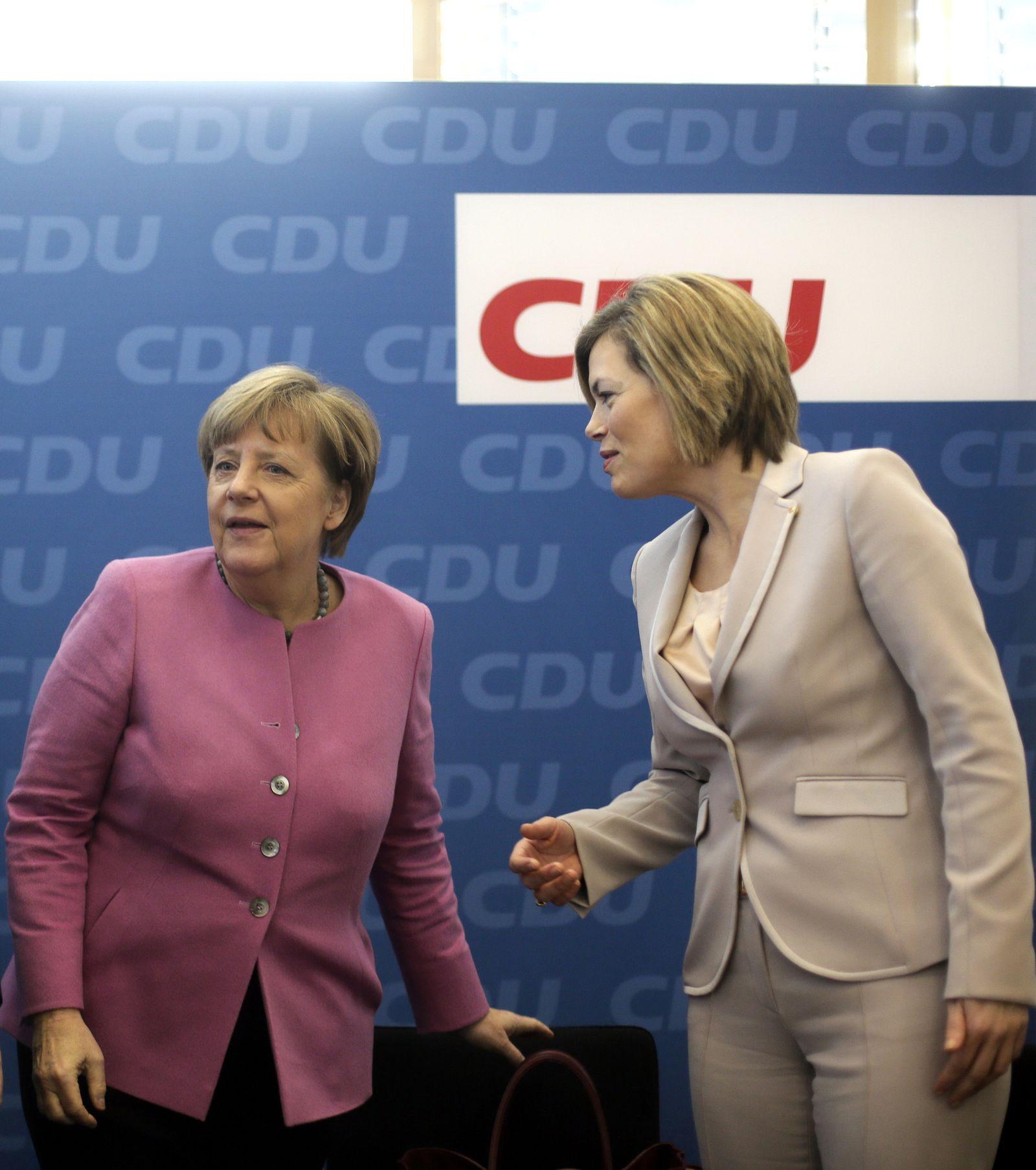 Klöckner/ Merkel