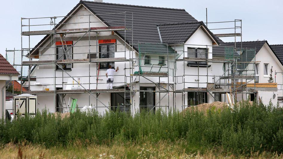 Baustelle in Mecklenburg-Vorpommern