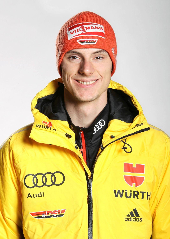 EINMALIGE VERWENDUNG Skispringer/ Andreas Wank