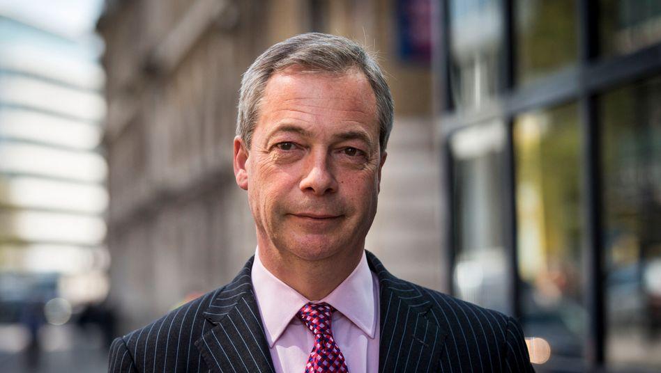 Nigel Farage: »Es ist vollbracht. Es ist vorbei.«