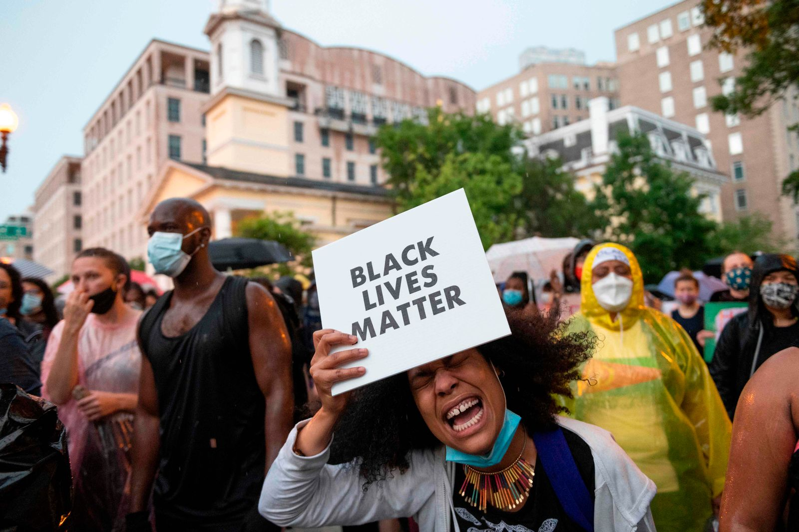 Black Lives Matter protests across the country after George Floyd's death