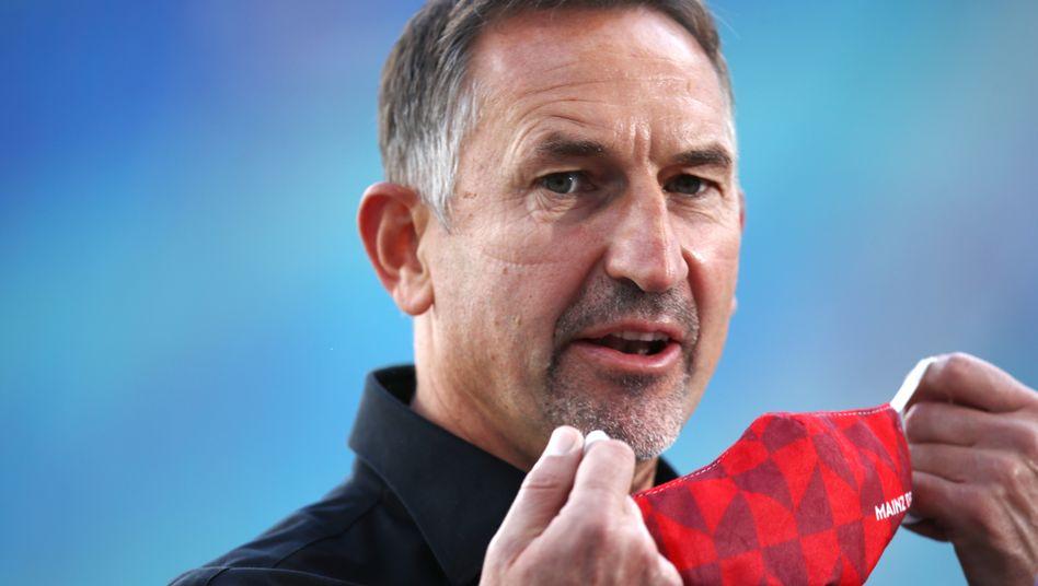 "Trainer Achim Beierlorzer sieht ""kein Zerwürfnis"""