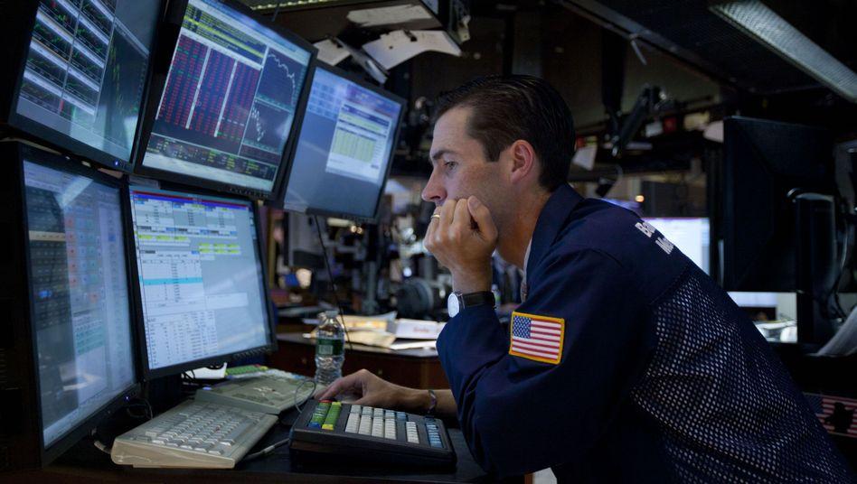 """Börsenhändler in New York: """"Wachstum in den meisten Ländern wird sich verlangsamen"""""""